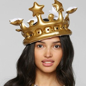 FLYDREAM criativa Crown inflável personalizado Hat Inflado