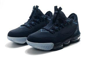 Titan X Lebron 16 Agimat Obsidian Men Blue Basketball Sports Shoes blindagem de baixa James 16 Metallic Mens ouro Designer Sports Trainers