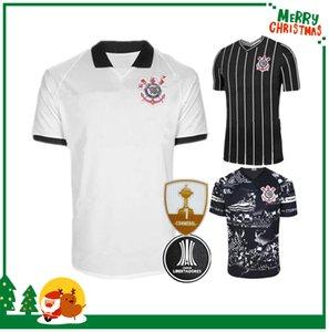 20 21 Corinthian Paulista Jersey di calcio 2020 2021 CLAYTON Jadson uomo Camicia ROMERO PABLO GABRIEL pullover di football per adulti