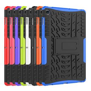 Sergent Anti-50pcs chute Tablet Case pour Samsung Tab 4 A E S3 S4 S5E T550 T810 T515 T595 P200 A2 pour IPad cas