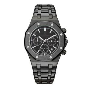 esportes mens luxo Top relógios Todos Subdial Trabalho relógio de carvalho real suíço relógio real dos homens da forma do Oak montres Wristwatch pour hommes