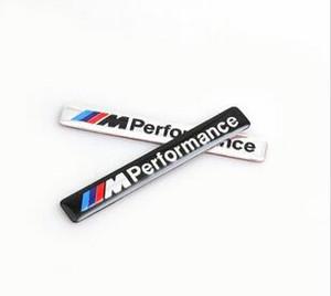/// M الأداء M الطاقة 85x12mm موتورسبورت المعادن الشعار ملصق سيارة الألومنيوم شعار الشواية شارة لسيارات BMW E34 E36 E39 E53 E60 E90 M3 F10 F30