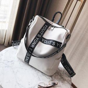 Дизайнер-корейский стиль мода путешествия рюкзак большой емкости waterphoof черный рюкзак сумки новое поступление школьная сумка бесплатная доставка