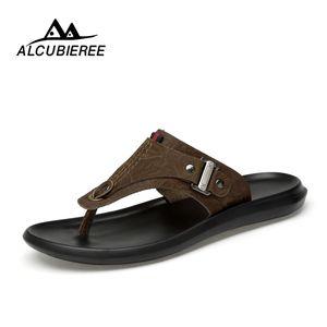 Casual Shoes ALCUBIEREE Uomo Beach sfiato Sandali Maschio leggero antiscivolo Outdoor pistoni di estate infradito Scarpe