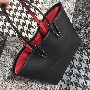 Christin Loubtin bolsas de grife parte inferior vermelha de moda de qualidade superior composta mulheres designer mala sacos bolsa bolsa de couro genuína Z07