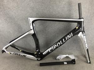 Frein à disque Sliver Brillant Cipollini Nk1k Carbon Road Cadre Carbon Road Bike / Vélo Fork + SEATPost + Pince + Casque