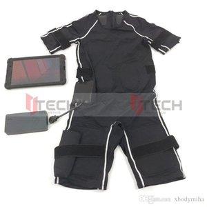 Сухой костюм электро ЭМС Фитнес Body для похудения тренировка мышц миостимулятор беспроводной стимуляция потеря веса машины для домашнего использования
