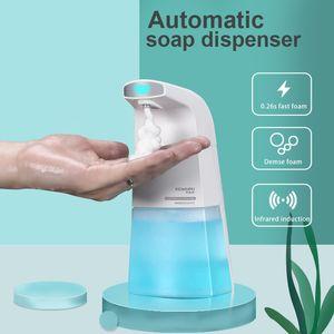 Mousse automatique Distributeur de savon liquide pour les mains à induction machine à laver mousse intelligente Touchless Capteur infrarouge
