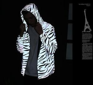 Cappotto M3 Reflect Jacket Uomo Primavera Autunno Windbreaker Zipper Designer Giacche Windruner