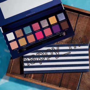 2019 NOVO Marca paletas de maquiagem RIVIERA 14 cores Paleta Shimmer Matte Eye sombra suave Novina modernprim paleta de beleza
