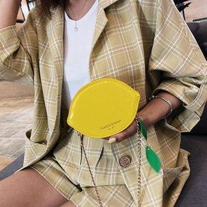 Aelicy женская личность летняя лакированная кожаная цепочка наплечная сумка senior sense female wild messenger bag lemon pouch
