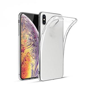 Crystal clear case para iphone xs max tpu completo phone case silicone para iphone 7 7 plus com saco de espuma de opp