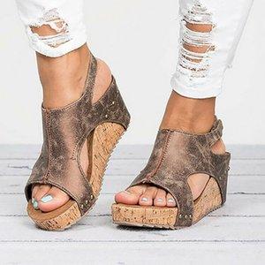JODIMITTY платформы сандалии клинья обувь для женщин на каблуках Sandalias Mujer Летняя обувь засоров женские эспадрильи женские сандалии 2020 T200605