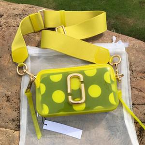 2020 High-End-Designer-Marke der Frauen kleine Schultertasche bunt breite Reißverschluss mini quadratische Tasche tragbare Umhängetasche Frauen