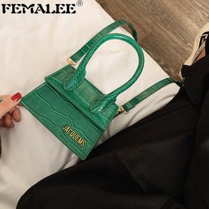 Bolsas de mão de moda de luxo da marca bolsas e bolsas Mulheres Designer pequeno ombro Crossbody Bag Crocodile Pattern 2020 Mini Totes