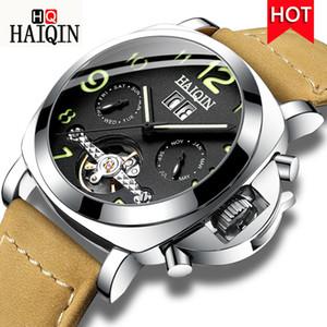 dos homens / mens relógios relógio de pulso homens impermeáveis top homens automáticos / mecânica / relógio Haiqin desporto reloj hombre