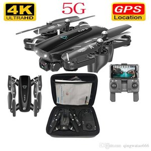 5G RC hélicoptère avec GPS Drone avec 4k caméra HD 4K Quadcopter Drones WIFI FPV Pliable Off-Point Flying Photos Vidéo Drone Hélicoptère Jouet