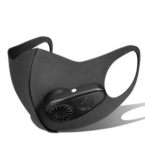 Intelligente Stromgesichtsmaske staubdicht Anti-Formaldehyde Wiederverwendbare Cycling Gesichtsmasken 98% Filtereffizienz Qualitäts-Masken Freies Verschiffen