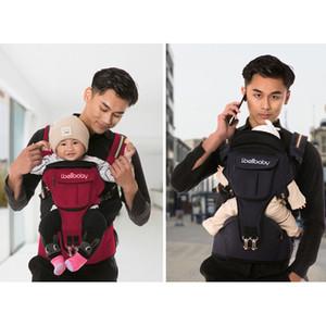 Zaino Carrier Ibelibaby bambino Hip portatile sede del bambino dell'involucro dell'imbracatura cotone neonato di trasporto a nastro per la mamma papà