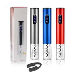 Bottiglia elettrico Wine Opener automatico della batteria in acciaio inossidabile Vino Cavatappi Opener Cordless Foil Cutter For Wine LJJK1812