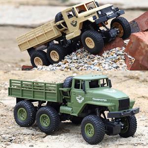 RC Car 10KM / H 6WD vitesse réglable hors route militaire 01h18 RC Truck charge 500g Drift voiture pour enfants cadeau JJRC Q68 / Q69