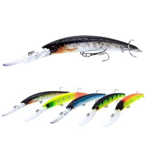 Minnow Lure Fishing Artificial Bait Long Mouth Tongue Board 15cm 16g Hard Bait Mandarin Bass Fish