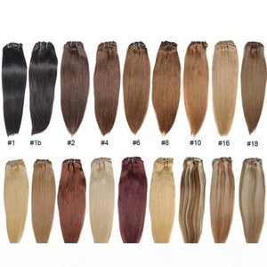 A 30 Colors Brazilian Straight Hair 16 &Quot ;To 32 &#039 ;&#039 ;Straight Hair Weaves 100 %Human Hair Extensions Weaving Weft Blonde B