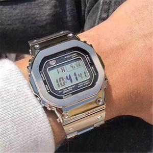 Shock Top-Marke im Freien Männer G Sportuhren LED elektronische Digital-Uhr-Mann-Mode Chronograph Armbanduhren Relogio Masculino Mini