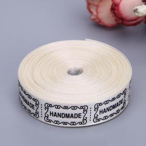 La main Coton Amour Ruban Vêtement Ruban Label DIY Bricolage À La Main Bowknot Couture Accessoires Décoration de La Maison