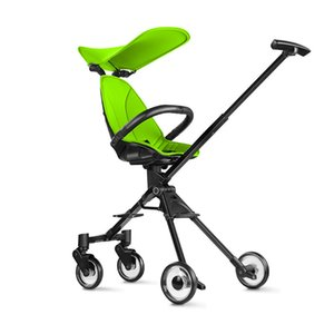 travel trike artifact shopping cart baby stroller high landscape two-way shock absorbers portable baby stroller foldable