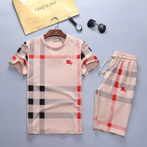 Summer Brand Sweatshirt Designer Men Chándal Prendas de abrigo para hombre Camisetas de manga corta + Pantalones Moda Medusa Jogge Chándales