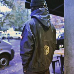 C.E Cavempt harajuku sudaderas cubo mágico bordado sudaderas de alta calidad de hombres de las mujeres suelta streetwear CAV Empt Pullover