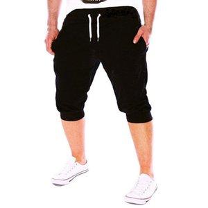 Été Hommes Shorts Pantalons Gym Workout pantalons de jogging Shorts Fit élastique Casual Vêtements de sport Sweatpants garçon homme 2020 Nouveau