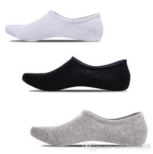 Fest Farbe Socke Slipper lässig entspannt Mode Homme Unterwäsche Silikon Beleg Männlich Kleidung Mens-Sommer-Designer