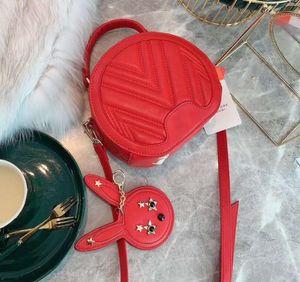 Designer Femmes Sac À Main De Luxe Lady Bandoulière avec lapin pendentif Haute Qualité Nouveau Style Sacs À Bandoulière Classique m lettre