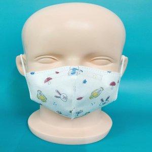 Colorful Kids Mask children Cartoon Face Masks active carbon Filter Breather Valve PM2.5 Anti Haze Dustproof Protec EEA1443-8