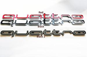 RS 3D Adesivi Stile anteriore Quattro emblema distintivo griglia Trim per Audi A1 A3 A4 A5 A6 A7 A8 Q3 Q5 TT Accessori auto
