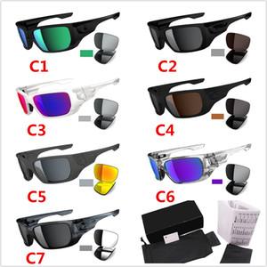 2019 Солнцезащитные очки 223 мужчин и женщин Спорт Мужчины вождения по пересеченной местности 7 Стиль Солнцезащитные очки UV400 Переключатели Открытый Велоспорт очки
