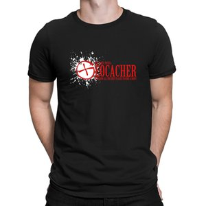 Mess With A Geocacher Tshirt Top Quality Cool 2018 The New Men's Tshirt 100% Cotton Character Fitted Anlarach Top Tee