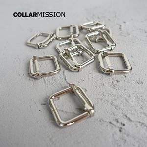 100pcs / lot métal plaqué boucle réglable bricolage Accessoires pour chiens collier pièces en alliage de zinc sangle 15mm diy de LXK15Y de haute qualité