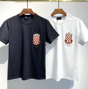 mens 2020 luxury designer clothes 20SS Box Logo X Swaroovski anniversary Tee Men Women Couple Summer Fashion Casual Street T shirt for men