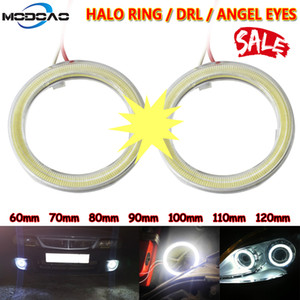 1pcs viaturas Angel Eyes Led carro de halo Ring Lights Led Angel Eyes Farol Farol Lâmpada DRL 12V Nevoeiro luz Luz