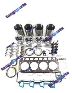 4TNE84T Engine Rebuild kit with valves For YANMAR Engine Parts Dozer Forklift Excavator Loaders etc engine parts kit