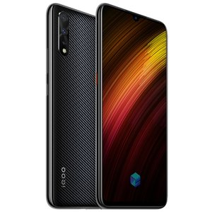 "Vivo d'origine iQoo Neo 855 4G LTE Cell Phone 6 Go RAM 64 Go 128 Go ROM Snapdragon 855 Octa base 6,38"" 16.0MP empreintes digitales ID Smart Mobile Téléphone"
