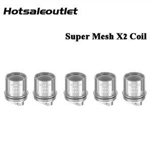 Geekvape Super Mesh X2 Coil Head 0.4ohm for Aegis Mini 80W Kit Cerberus tank 100% Original