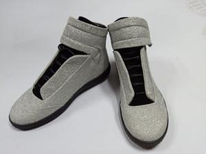 29 Haute Qualité Maison Martin Margiela High Top Sneaker mans Chaussures Hommes Chaussures De Randonnée Flats Chaussures rouge formateurs MM Kanye West Casual chaussures 38-46