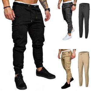 Erkek Yeni Geliş Günlük Pantolon Spor Spor eşofman altı Skinny Sweatpants Pantolon Gri Spor Salonları Jogger Erkek Pantolon