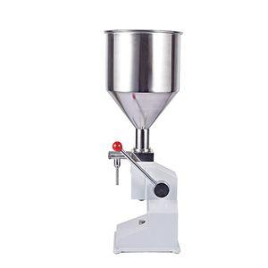 Qihang_top usine machine de remplissage alimentaire de distribution manuelle pâte commerciale pression manuelle équipement d'emballage liquide 1 ~ 50 ml