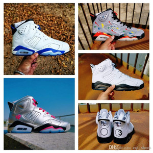 2020 3M 6s JSP riflettente argento scarpe da basket stelle dell'atletica 6 calzature Cactus Sport Sneakers infrarossi esterno con scatola shippment libero