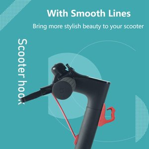 Pour Xiaomi Scooter M365 / M187 / Accessoires Pro Combinaison Set Crochet spécial Shock Absorber Damping Damping mètre Silicone Sleeve